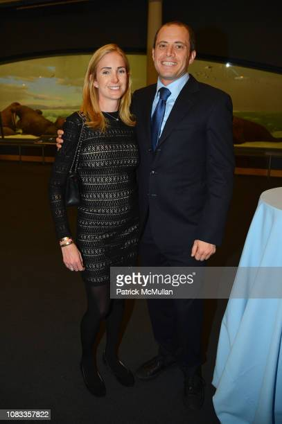 Caroline LeFrak and Jamie LeFrak attend Publication Party For Karen LeFrak's New Book Sleepover At The Museum at Milstein Hall of Ocean Life at the...