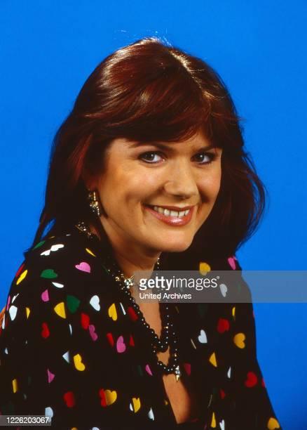 Caroline Lenzen, deutsche Fernsehmoderatorin beim Sender RTl plus, Deutschland 1993