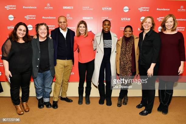 Caroline Libresco Christine Vachon Patrick Gaspard Sarah Ellison Issa Rae Octavia Spencer Megan Smith and Sundance Institute Executive Director Keri...