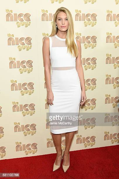 Caroline Lowe attends The Nice Guys New York Screening at Metrograph on May 12 2016 in New York City