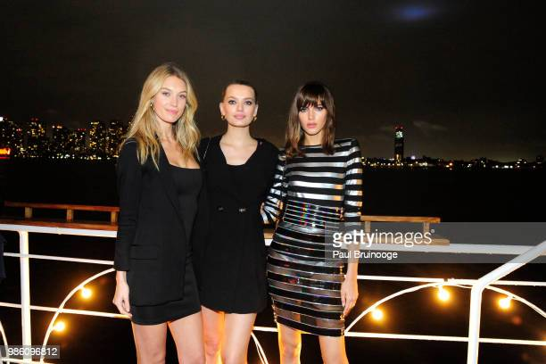 Caroline Lowe Bregje Heinen and Valery Kaufman attend The Cinema Society With Synchrony And Avion Host The After Party For Marvel Studios' AntMan And...