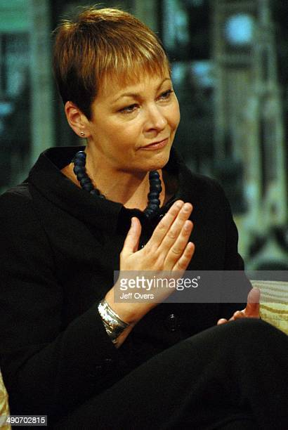Caroline Lucas leader of the Green Party appearing on the BBC1 current affairs programme The Andrew Marr Show