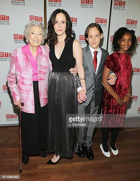 Caroline Luise Morelli Parker actress MaryLouise Parker William Atticus Crudup and Caroline Aberash Parker attend the Heisenberg Broadway Opening...