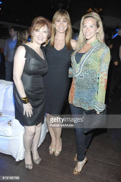 Caroline Manzo, Jill Zarin and Dina Manzo attend Nic Roldan, Shamin Abas and Tracy Mourning Host Hamptons Social Series Dinner For St. Jude's at Lily...
