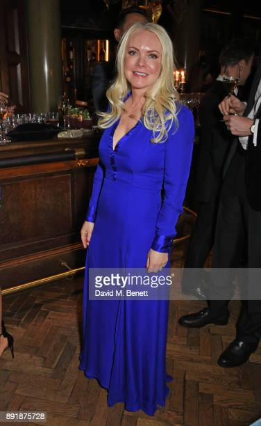 Caroline Mellor attends the Rosewood Mini Wishes Gala Dinner in aid of Great Ormond Street Hospital Children's Charity at Rosewood London on December...
