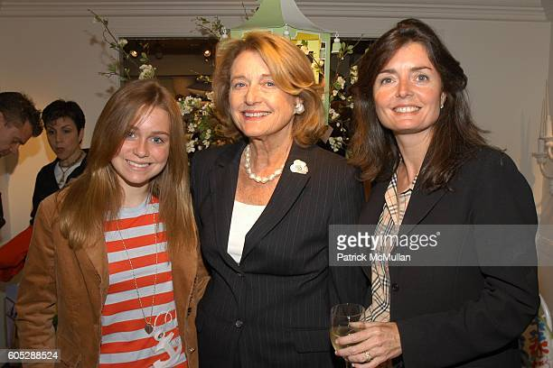 Caroline Moxley Joan Nadin and Cara Moxley attend Celebration for the publication of IN THE PINK Dorothy Draper America's Most Fabulous Decorator by...