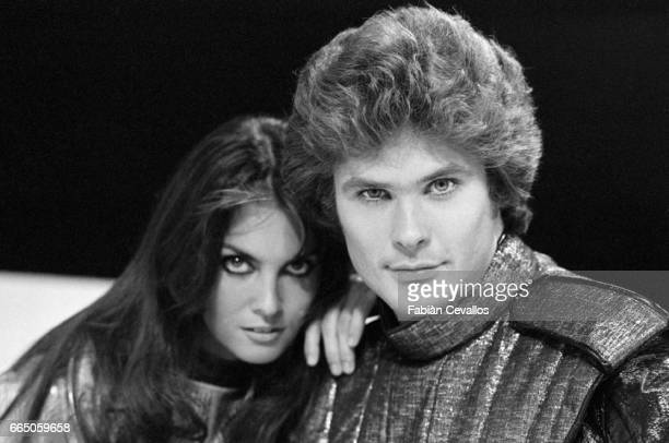 Caroline Munro and David Hasselhoff appear in the science fiction movie Starcrash by director Luigi Cozzi The Italian film released in 1979 is also...