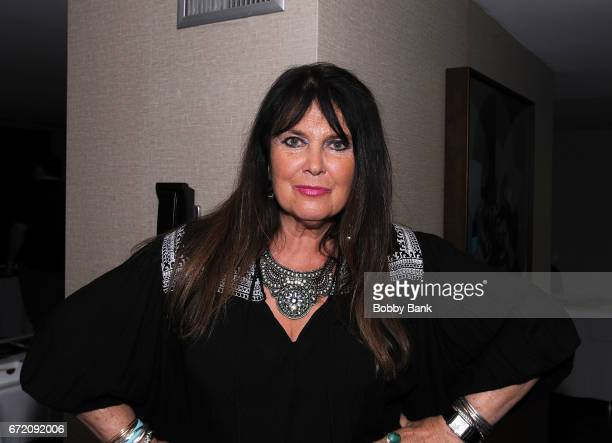 Caroline Munro attends Chiller Theatre Expo Spring 2017 Day 3 at Hilton Parsippany on April 23 2017 in Parsippany New Jersey