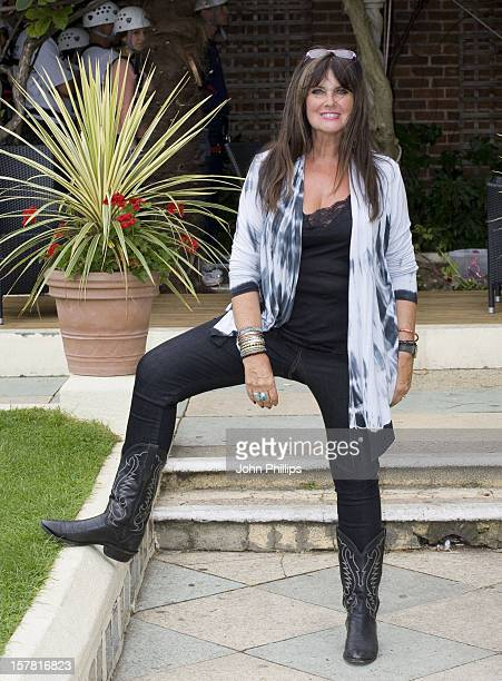 Caroline Munro Attends Marks Spencer Charity Abseil Event Dozens Of People Abseil Down 80Ft Building To Raise Money For Elizabeth Finn Care As Part...