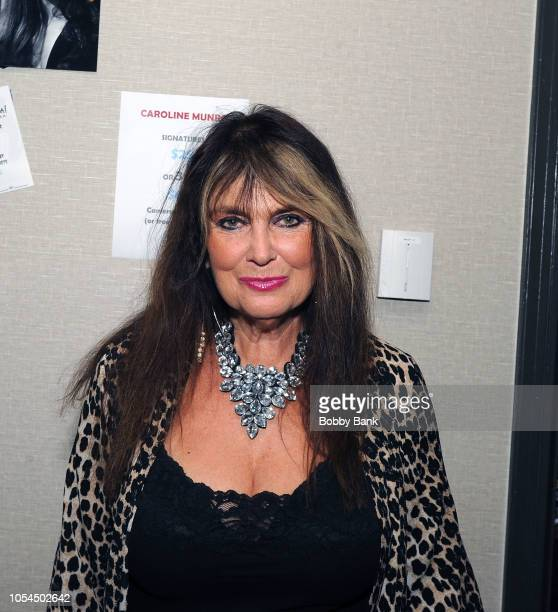 Caroline Munro attends the Chiller Theatre Expo Fall 2018 at Hilton Parsippany on October 27 2018 in Parsippany New Jersey