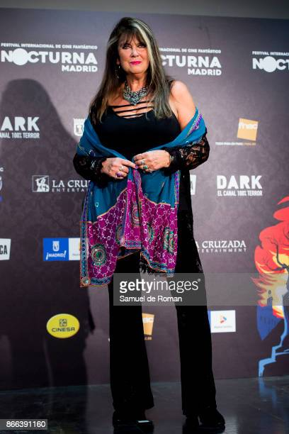 Caroline Munro during Nocturna Madrid 2017 Inauguration on October 25 2017 in Madrid Spain
