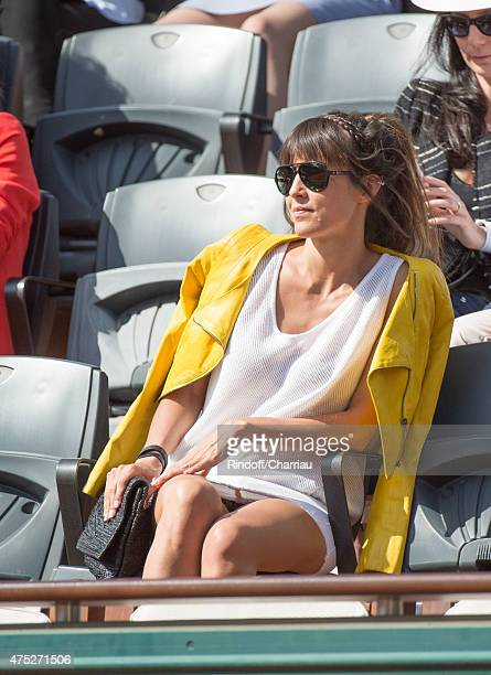 Caroline Nielsen attends the French Open 2015 at Roland Garros on May 30, 2015 in Paris, France.