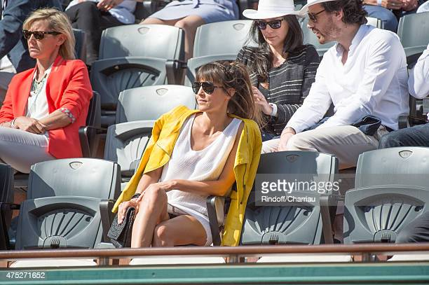 Caroline Nielsen attends the French Open 2015 at Roland Garros on May 30 2015 in Paris France