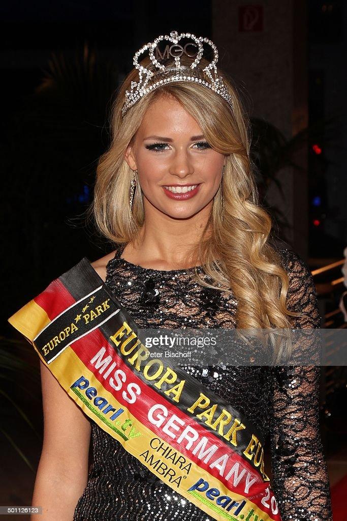 """Caroline Noeding (""""Miss Germany 2013"""" mit 480 Punkten, 21, """"Miss Niedersachsen"""", """"Mi : News Photo"""