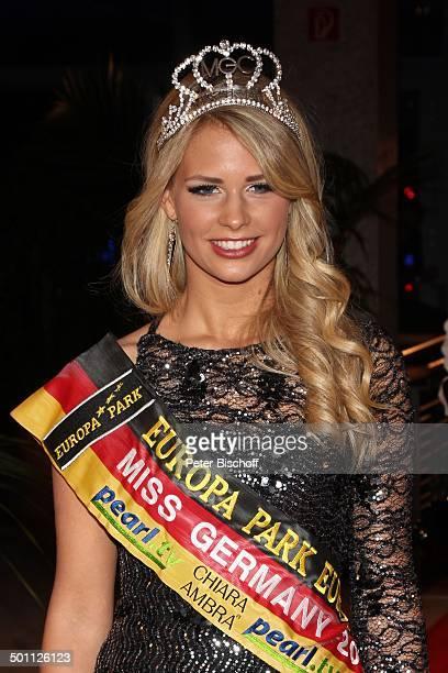 Caroline Noeding Portrt Verleihung Gala Deutscher Medienpreis 2012 fr herausragende Symbole der Menschlichkeit Kongresshaus BadenBaden...