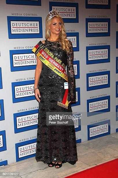 Caroline Noeding Verleihung Gala Deutscher Medienpreis 2012 fr herausragende Symbole der Menschlichkeit Kongresshaus BadenBaden BadenWrttemberg...