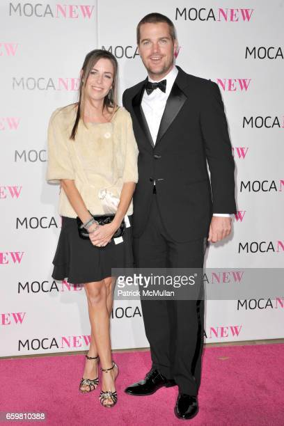 Caroline O'Donnell and Chris O' Donnell attend MOCA NEW 30th Anniversary Gala at MOCA on November 14 2009 in Los Angeles California