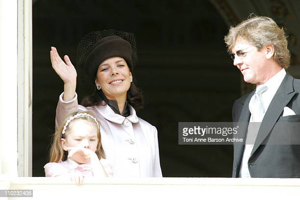 HSH Caroline of Hanover with HSH Ernst August of Hanover and their daughter Alexandra