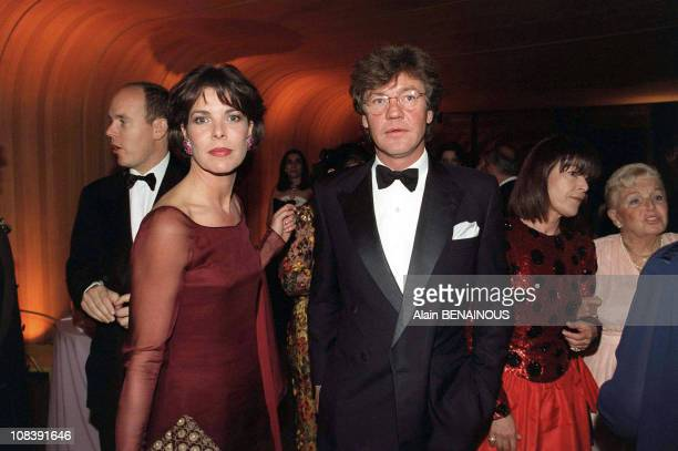 Caroline of Monaco and Ernst August of Hannover In Monaco on March 01 1998