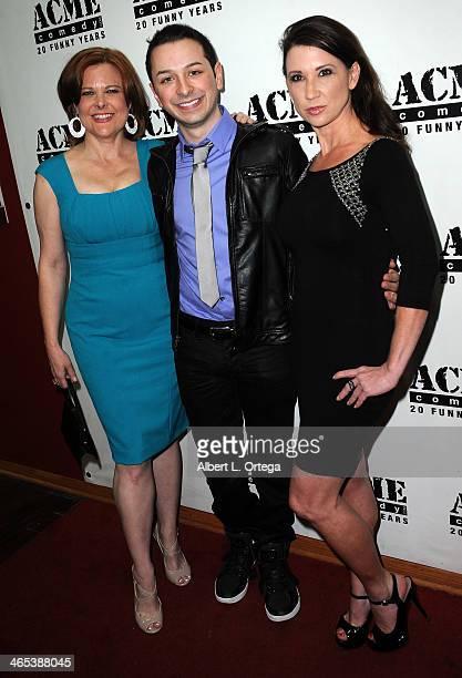 Caroline O'Neil actor/film maker Steven Mango and Annette Marie Westwood arrive for Inside The Scientology Celebrity Centre An ExParishoner Reveals...