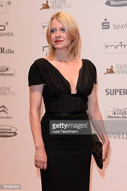 Caroline Peters attends the Goldene Henne 2013 at Stage Theater on September 25 2013 in Berlin Germany