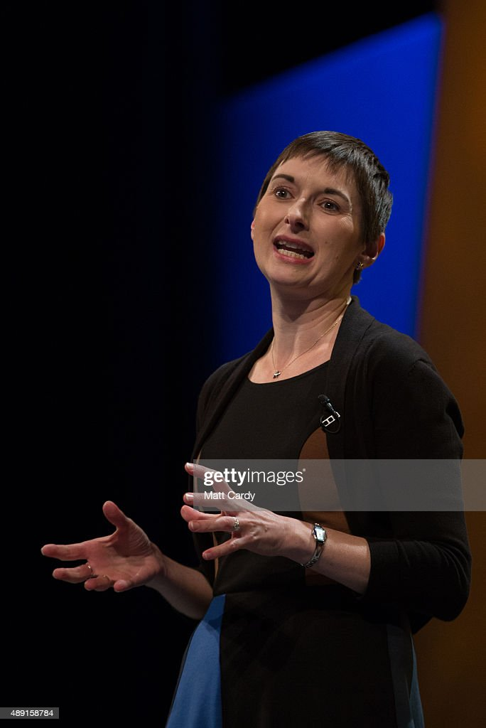 Caroline Pidgeon, the Lib Dem London Mayoralty candidate speaks at a Members' Rally on the first day of the Liberal Democrats annual conference on September 19, 2015 in Bournemouth, England. The Liberal Democrats are currently holding their annual conference using the hashtag #LibDemfightback in Bournemouth. The conference is the first since the party lost all but eight of its MPs in May's UK general election, however after gaining 20,000 new members since May the party is expecting a record attendance at the event being held at the Bournemouth International Centre.
