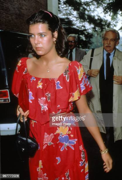 Caroline, Princess of Hanover circa 1982 in New York.