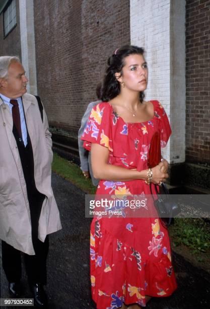 Caroline, Princess of Hanover circa 1982 in New York.