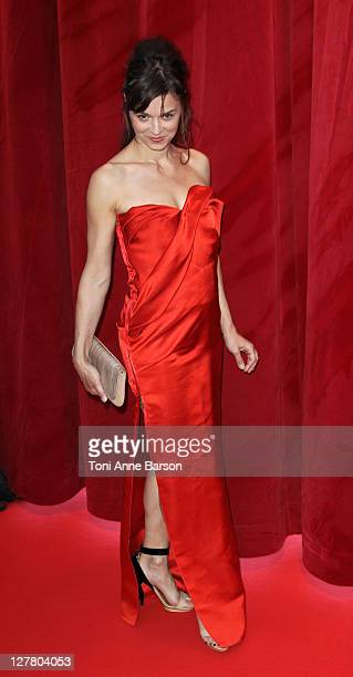 Caroline Proust arrives at the 51st Monte Carlo TV Festival Opening Ceremony on June 6 2011 in Monaco Monaco