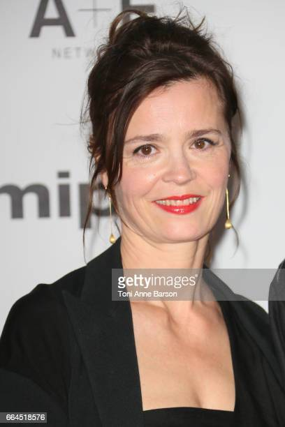 Caroline Proust arrives at the MIPTV 2017 Opening Party at the Martinez Hotel on April 4 2017 in Cannes France