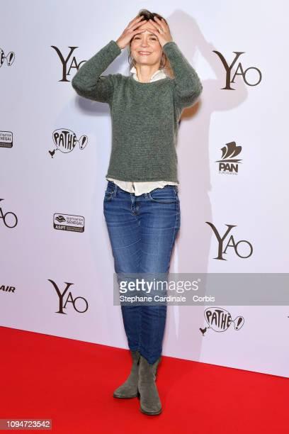 Caroline Proust attends 'Yao' Paris Premiere at Le Grand Rex on January 15 2019 in Paris France