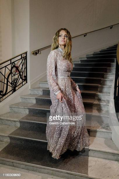 Caroline Receveur at the Martinez Hotel during the 72nd annual Cannes Film Festival on May 18 2019 in Cannes France