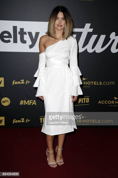 Caroline Receveur attends the '4th Melty Future Awards' at Le Grand Rex on February 6 2017 in Paris France