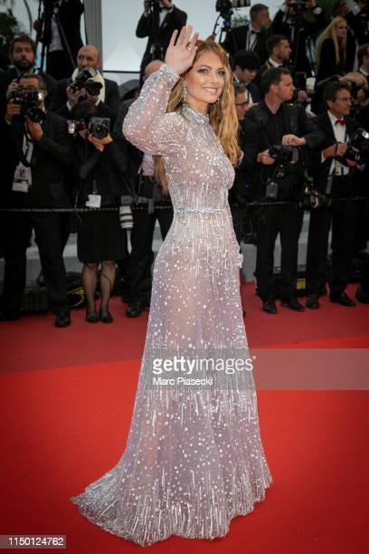 "Caroline Receveur attends the screening of ""Les Plus Belles Annees D'Une Vie"" during the 72nd annual Cannes Film Festival on May 18, 2019 in Cannes,..."