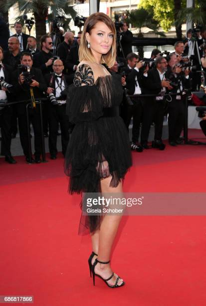 Caroline Receveur attends the The Killing Of A Sacred Deer screening during the 70th annual Cannes Film Festival at Palais des Festivals on May 22...