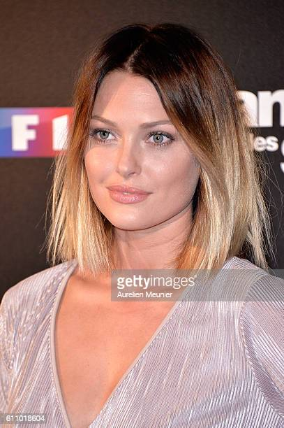 Caroline Receveur poses during the 'Danses With The Stars' photocall on September 28 2016 in Paris France