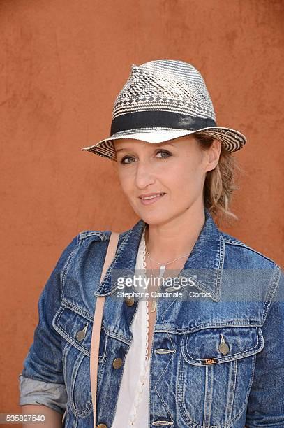 Caroline Roux at Roland Garros Village