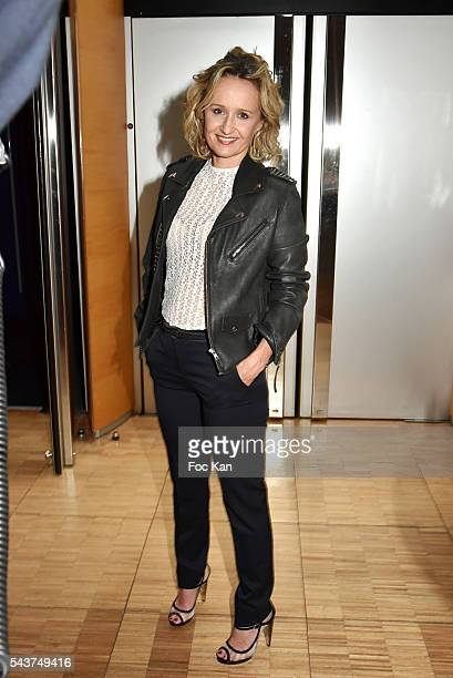 Caroline Roux attends France Television presents its programs 20162017 at France Television studios on June 29 2016 in Paris France