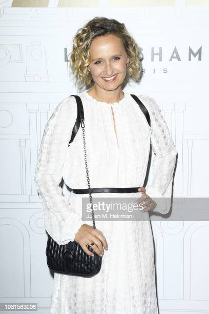 Caroline Roux attends the Longchamp 70th Anniversary Celebration at Opera Garnier on September 11 2018 in Paris France