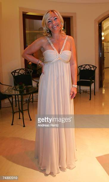 Caroline Rummenigge wife of Michael Rummenigge attends the golden Sportpyramide award at the Adlon Hotel on May 25 2007 in Berlin Germany