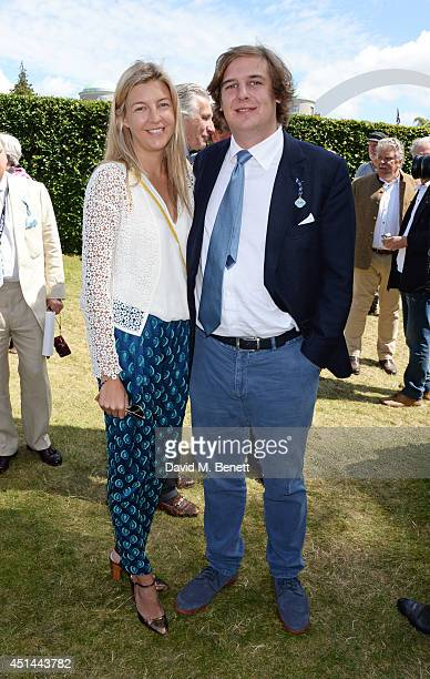 Caroline Rupert and Anton Rupert attend the Cartier Style Luxury Lunch at the Goodwood Festival of Speed on June 29 2014 in Chichester England