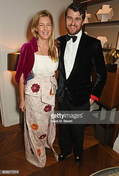 Caroline Rupert and Hickman Bacon attend a VIP dinner to celebrate The Animal Ball 2016 presented by Elephant Family at The Arts Club on November 22...