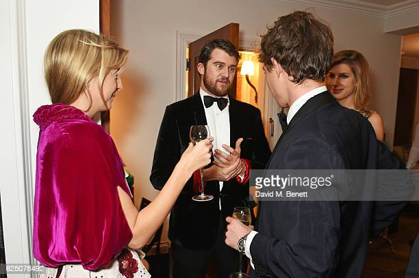 Caroline Rupert Hickman Bacon Jake Thomson and Susanna Warren attend a VIP dinner to celebrate The Animal Ball 2016 presented by Elephant Family at...