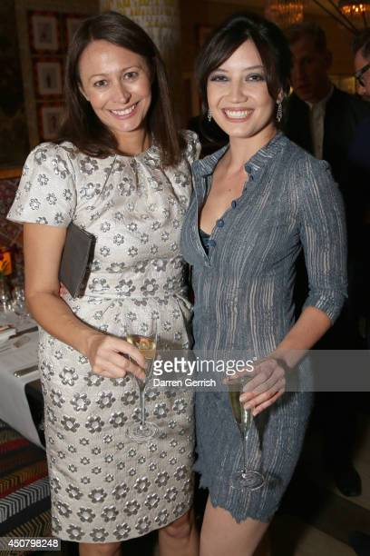 Caroline Rush and Daisy Lowe attends the GQ and LCM Party during the London Collections Men SS15 on June 17 2014 in London England