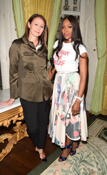 GBR: The Fashion Awards 2019 & Fashion for Relief Announcement With Caroline Rush And Naomi Campbell