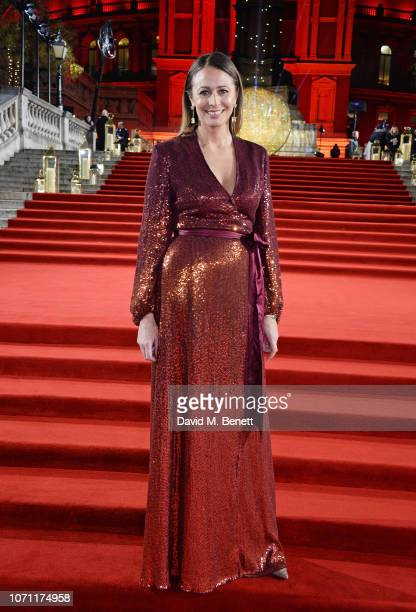 Caroline Rush arrives at The Fashion Awards 2018 in partnership with Swarovski at the Royal Albert Hall on December 10 2018 in London England