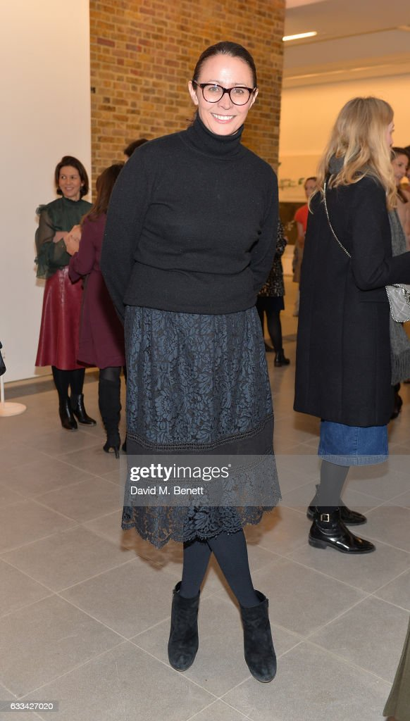 Caroline Rush attends as PORTER hosts the first of their 'Incredible Women' Talks supported by Mark's Club at The Serpentine Sackler Gallery on February 1, 2017 in London, England.