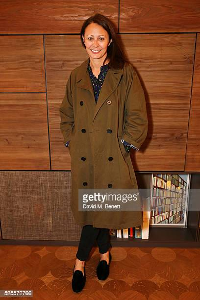 Caroline Rush attends the BFC Fashion Trust x Farfetch cocktail reception on April 28, 2016 in London, England.