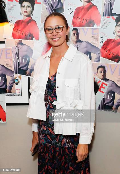 Caroline Rush attends the #MOVINGLOVE screening hosted by Derek Blasberg Katie Grand at Screen on the Green on July 15 2019 in London England