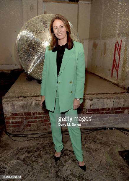 Caroline Rush attends the Nicopanda SS19 LFW Runway Show on September 14 2018 in London England